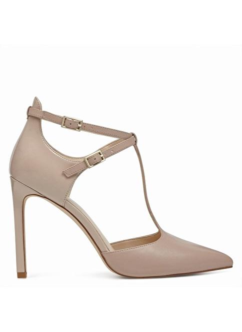Nine West Deri Stiletto Ayakkabı Ten
